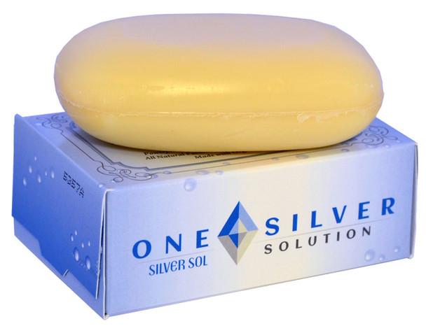 Silver Sol Soap. Facial and Body Bar Soap