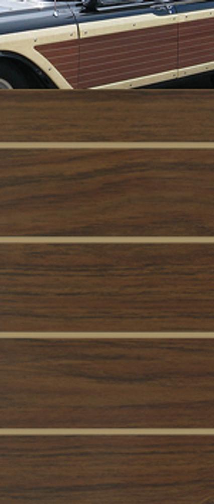 Colonial Teak w/Tan Lines Digital Reproduction Wood Grain Vinyl