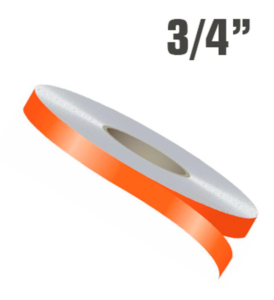 Stripeman.com 3/4 Inch Single Line Single Color Vinyl Stripe Roll Configuration
