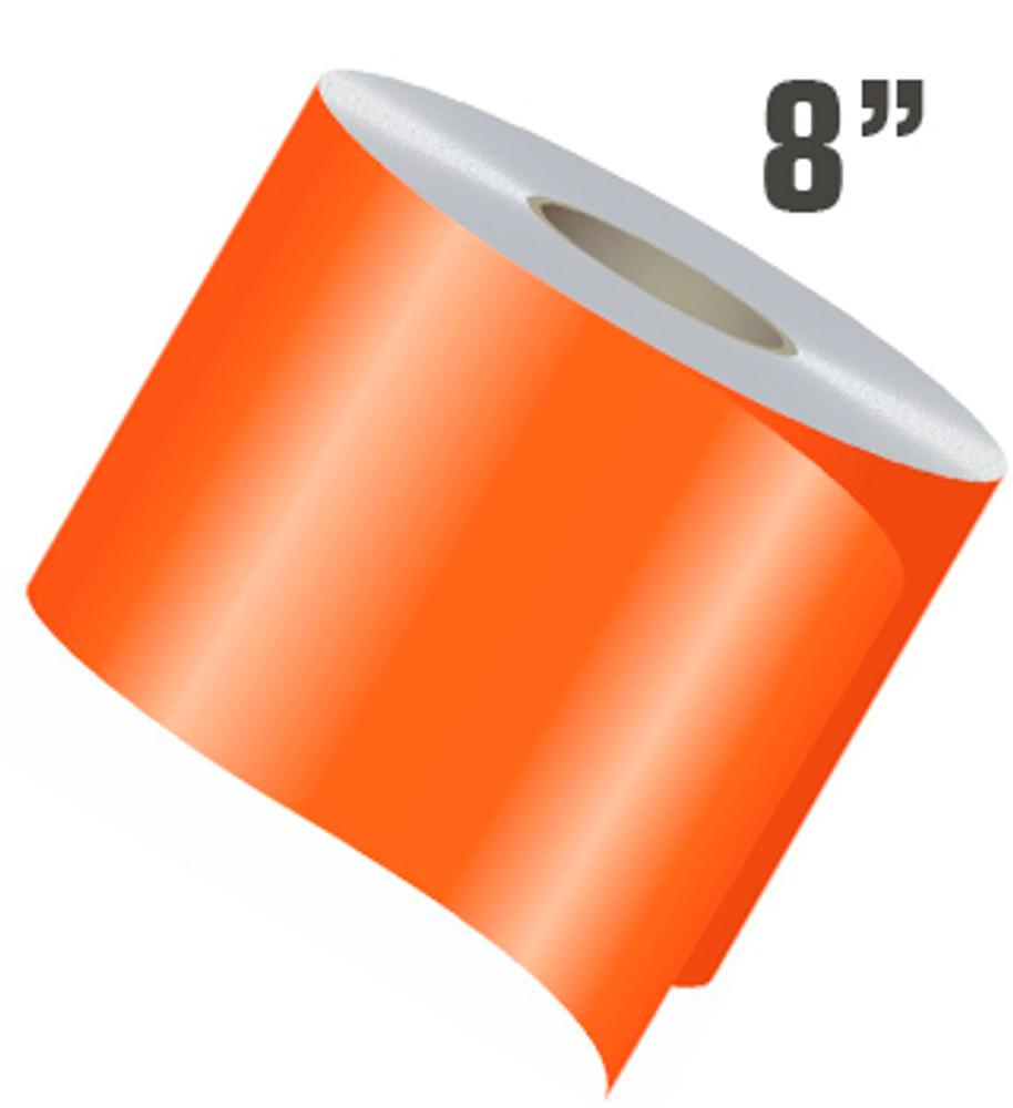 stripeman.com 8 Inch Wide Single Line Single Color Vinyl Stripe Roll