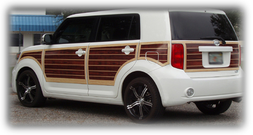 2008 2009 2010 2011 2012 2013 2014 2015 Scion XB Woody Vinyl Wood Grain Kit