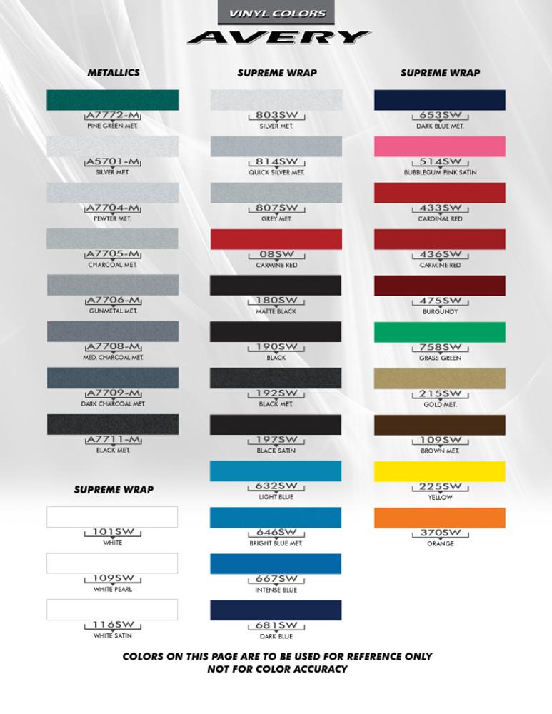 2009-2015 Chevrolet Camaro Shakedown Graphic Kit