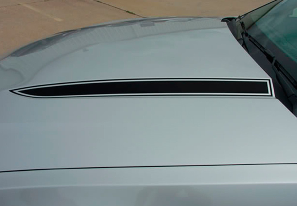 2010-2012 Ford Mustang Dominator Hood Spears Graphic Kit