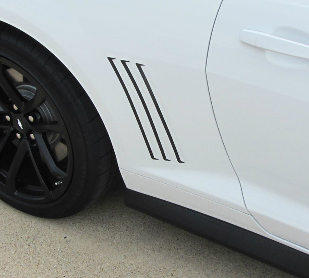 2014-2015 Chevrolet Camaro Bee 2 Gills Graphic Kit