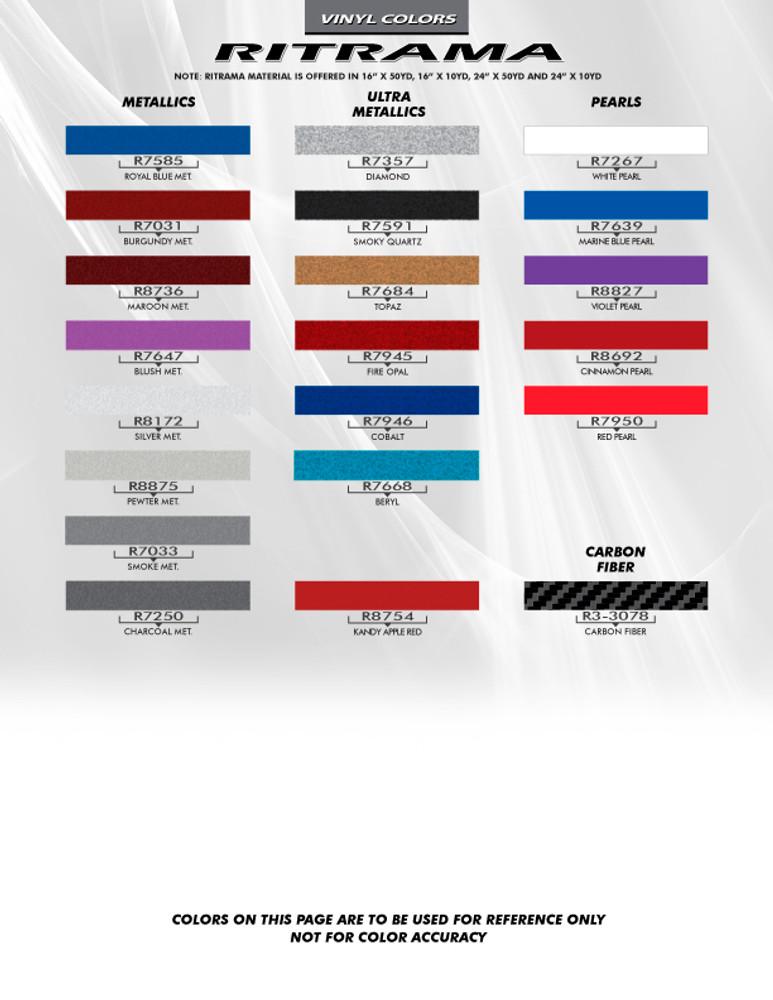2008-2015 Chevrolet Cruze Cruzin' Euro Rally Stripe Graphic Kit