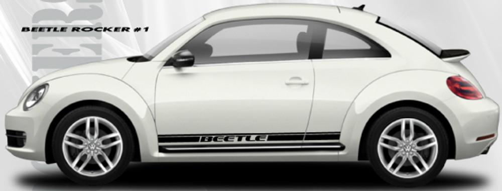 Volkswagen Beetle Rocker 1 Graphic Kit