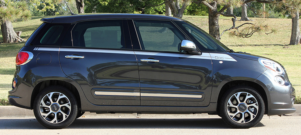 2014-2017 500L Fiat Side Kick Stripe Kit