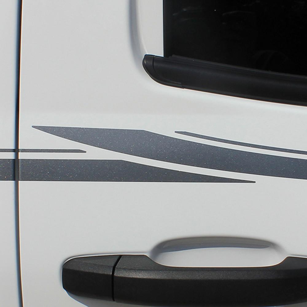 2013 2014 2015 Chevy Silverado Stripes Closeup