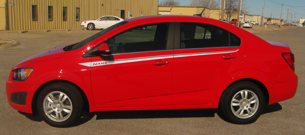 2012-2017 Chevy Sonic Sweep Graphic Kit