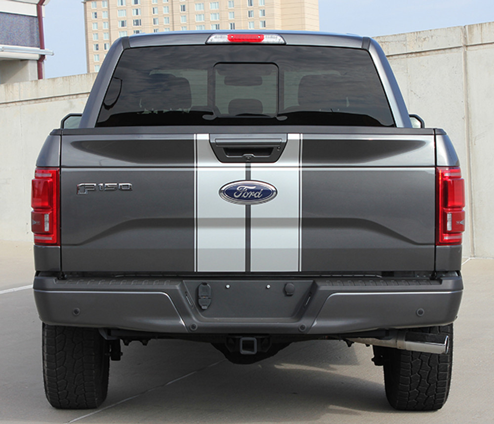 2015-2017 Ford F-150 F-Rally Graphic Kit by Stripeman.com  Tailgate