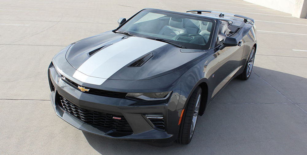 2016-2017 Chevy Camaro Overdrive Convertible Graphic Kit