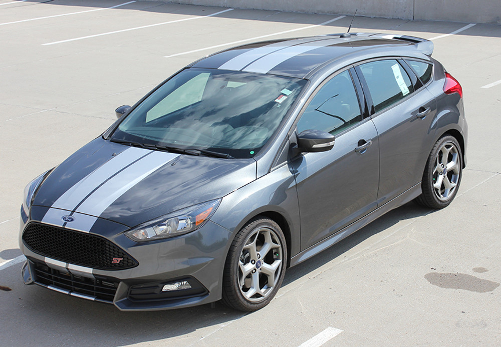 2015-2018 Ford Focus Target Rally Stripe Kit