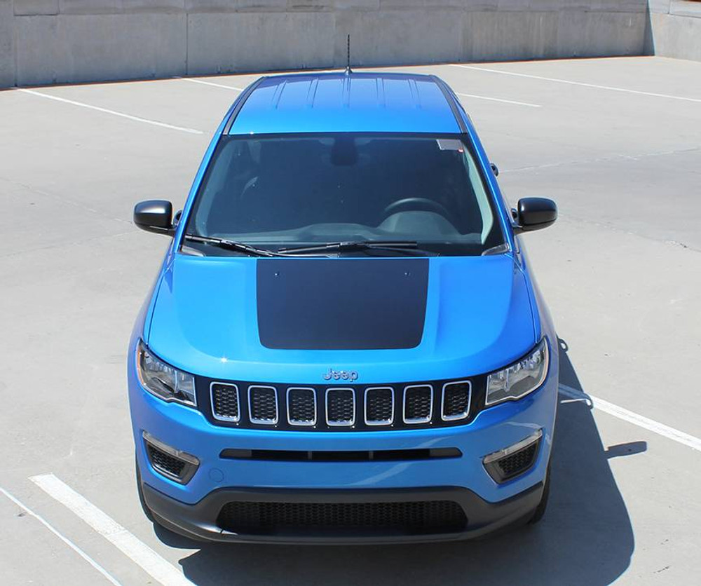 2017-2019 Jeep Compass Bearing Hood Graphic Kit