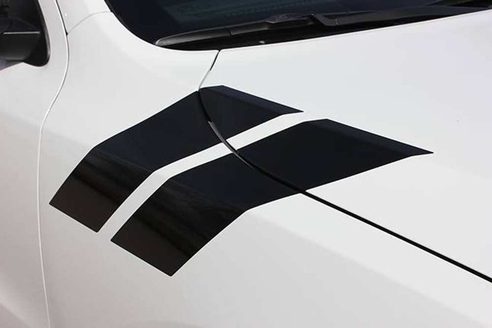 2011-2019 Dodge Durango Double Bar Graphic Kit Close Up View