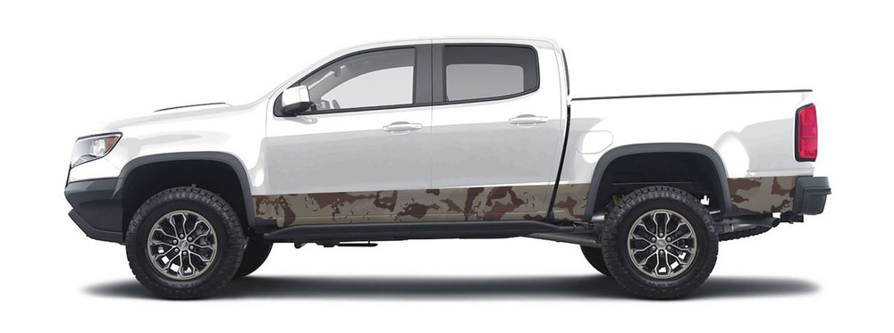 Classic Desert Camo - Non repeating pattern created by Aurora Graphics