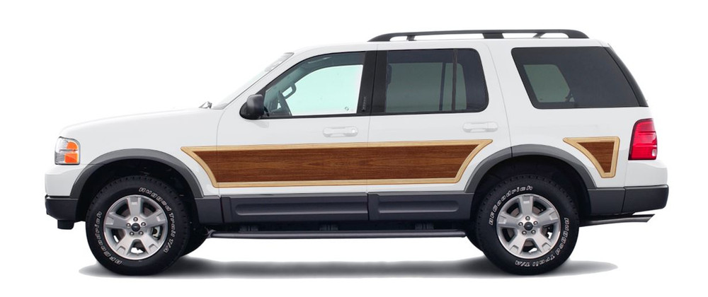 stripeman.com 06-10 Ford Explorer 4th Generation Woody Kit Solid