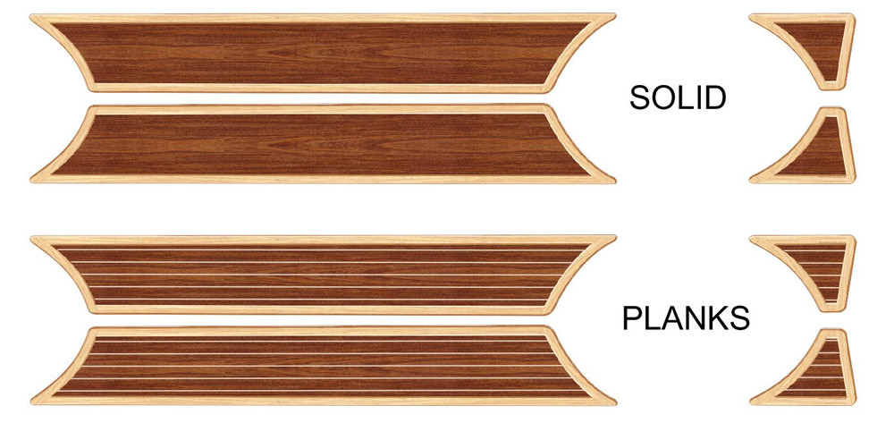 stripeman.com 06-10 Ford Explorer 4th Generation Woody Kit Option Choices