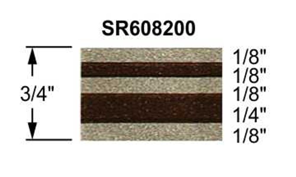 Truck Stripes Paint Break Arizona Beige w/ Brown | 50 ft roll