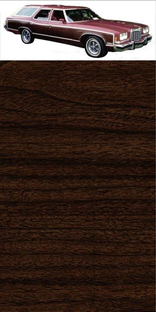 GM Dark Walnut Digital Reproduction Wood Grain Vinyl