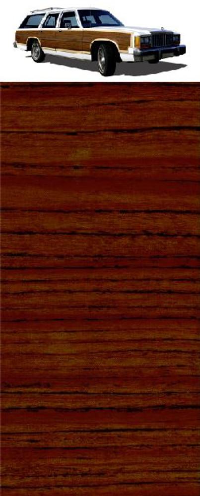 CS Mahogany Digital Reproduction Wood Grain Vinyl