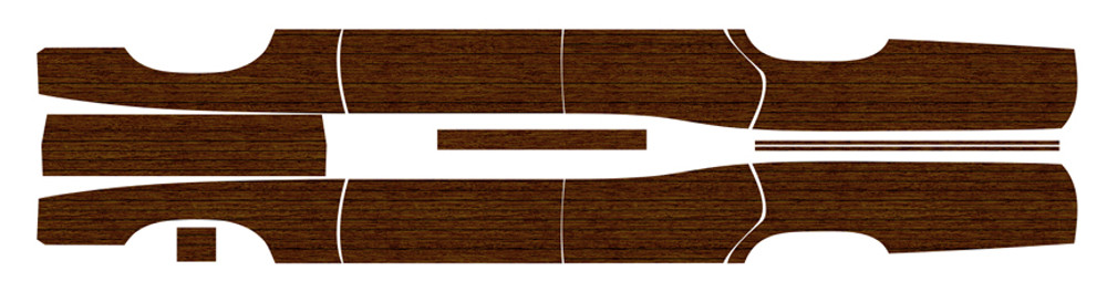 1971 - 1972 Ford Country Squire LTD Wagon panel layout by Stripeman.com
