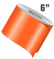 stripeman.com 6 Inch Wide Single Line Single Color Vinyl Stripe Roll