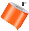 "8"" Wide Single Line Single Color Vinyl Stripe Roll"