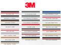 3M Two Color Stripe Roll Color Chart