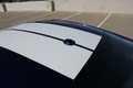 2015-2017 Ford Mustang Stallion Racing Stripes Graphic Kit Roof Close Up