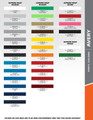 Rocker Strobe 6.0 Versatile Vinyl Stripe Graphic Kit w/Names