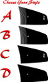 2011-2014 Dodge Charger Hood Decals Graphic Kit Style Options