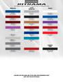 2015-2017 Ford Mustang Haste Rocker Stripe Vinyl Graphic Kit