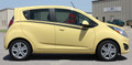 Chevy Spark Sparkover Vinyl Side Stripes Graphic Kit Side View