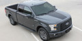 2015- 2017 Ford F-150 Route Vinyl Hood Graphic Kit