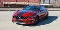 Stripeman.com  2018 Mustang Stage Rally Stripe Graphic Kit front corner view