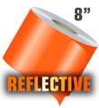stripeman.com 8 Inch Reflective Solid Stripe Roll
