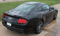 2015-2017 Ford Mustang Faded Rally Racing Stripe Kit Rear Passenger Side View