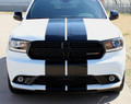 Stripeman.com 2014-2019 Dodge Durango Rally Stripe Graphic Kit without Hood Scoop