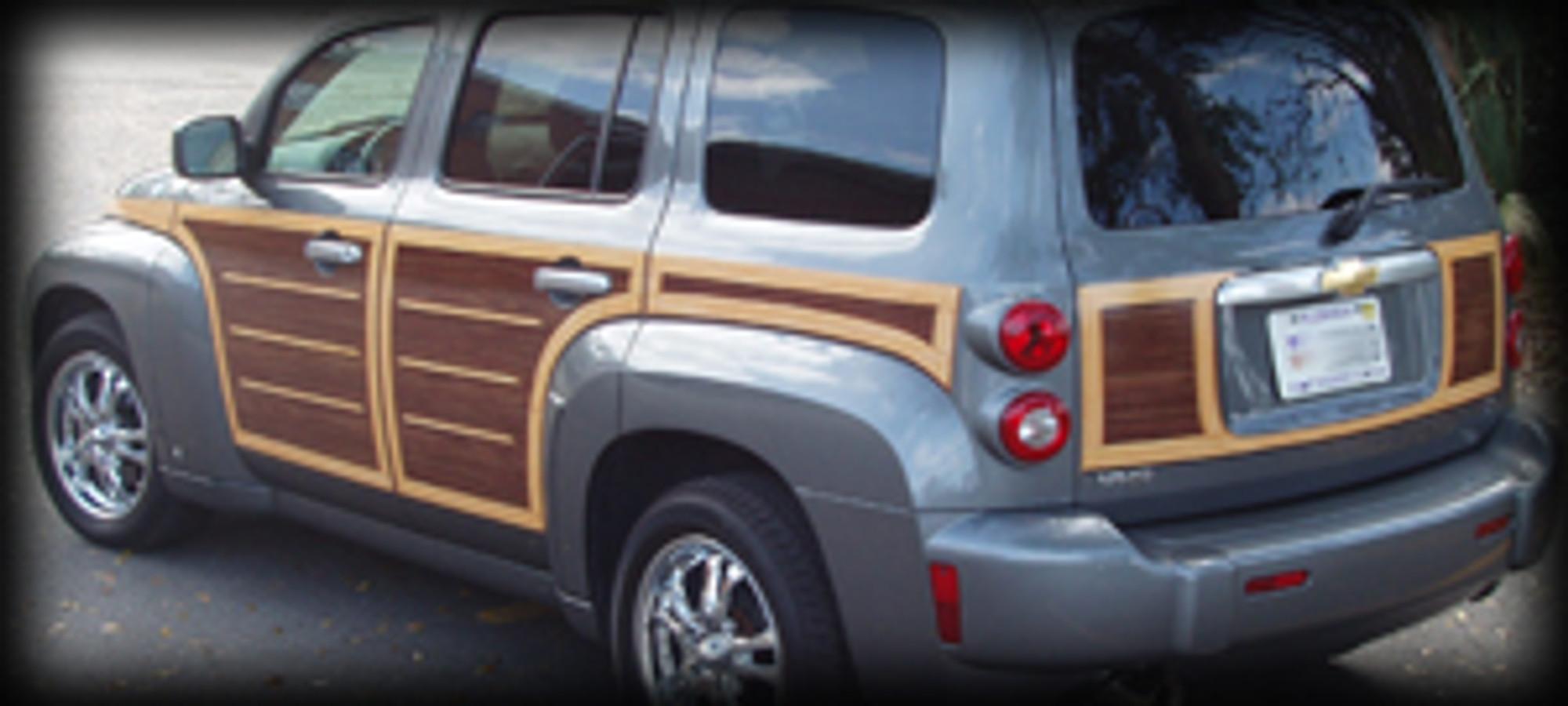 Buy Chevrolet Hhr Woody Kit Vinyl Graphic Kit