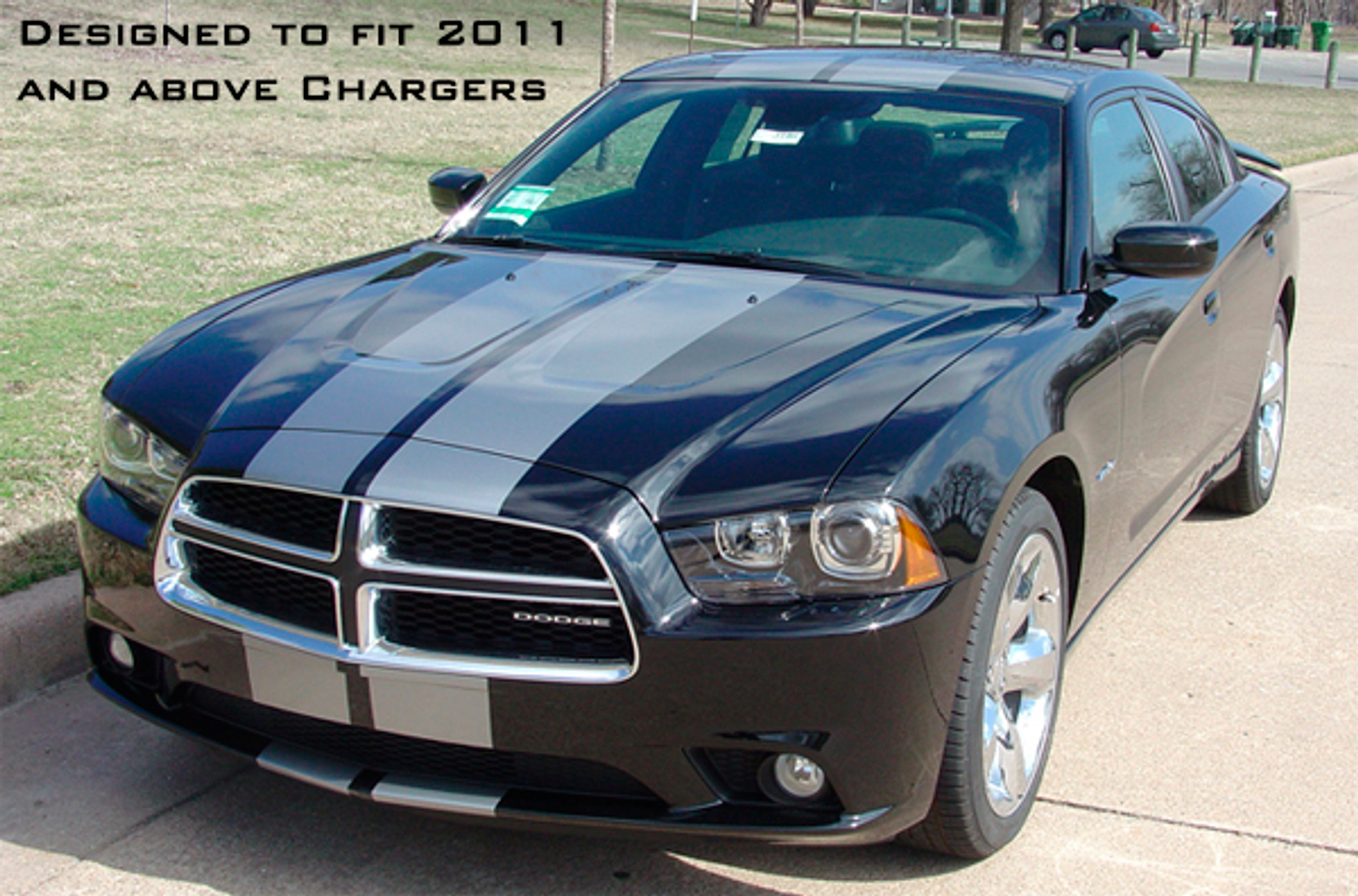 Shop Dodge Charger Stripes Dodge Charger Rally Stripes