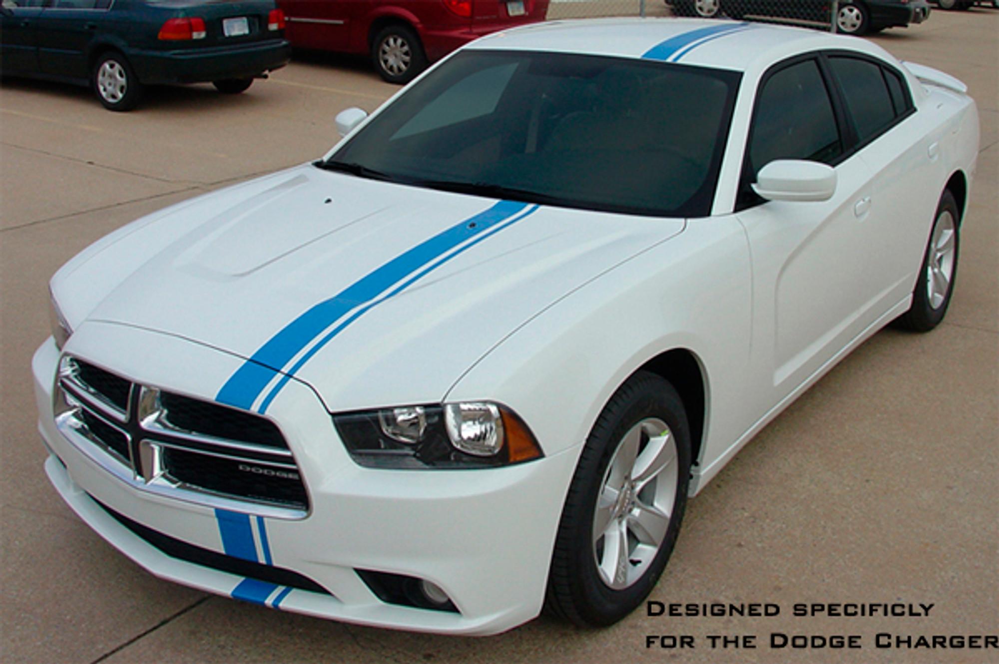 2011 2014 Dodge Charger Stripes Racing Stripes