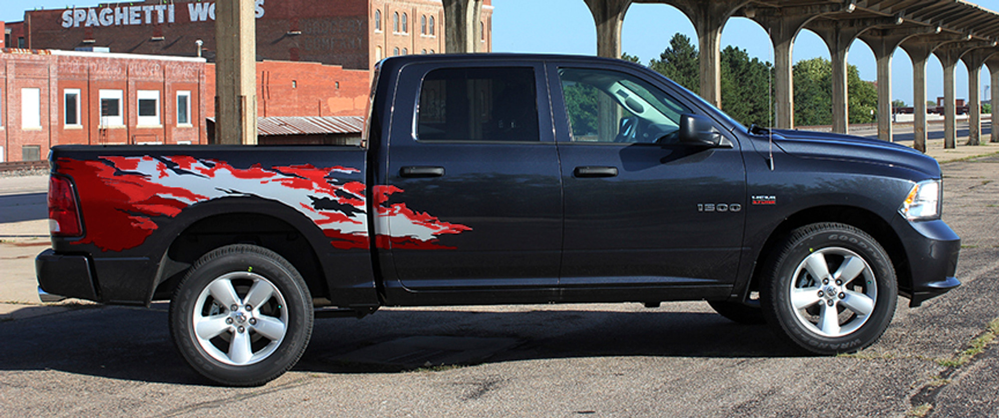 Dodge Ram 2017 >> 2009 2017 Dodge Ram Rage Screen Printed Graphic Kit
