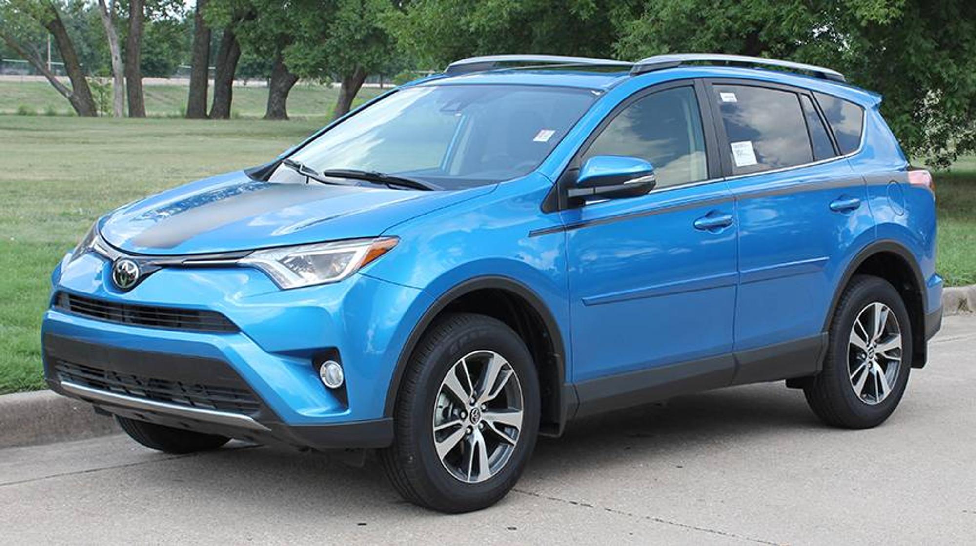 Toyota rav 4 vehicle wraps auto graphics stripeman