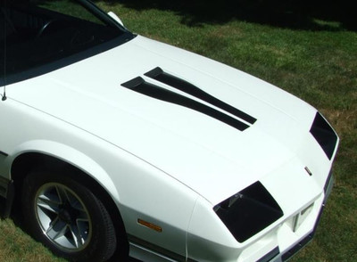 1982 -1984 Z28 Hood Inserts from Stripeman.com