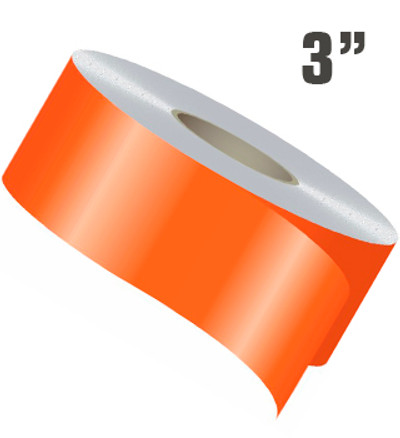 stripeman.com 3 Inch Wide Single Line Single Color Vinyl Stripe Roll