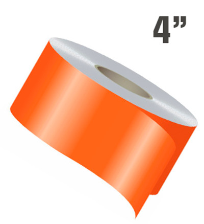 stripeman.com 4 Inch Wide Single Line Single Color Vinyl Stripe Roll
