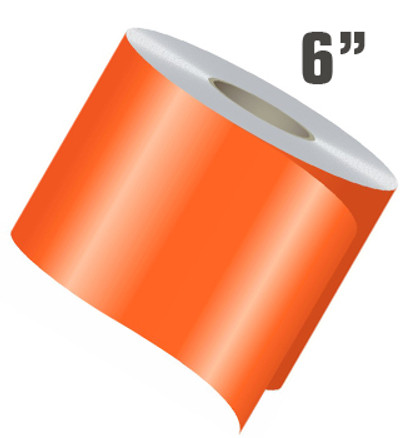 stripeman.com 6 Inch Wide Single Line Single Color Vinyl Stripe Roll