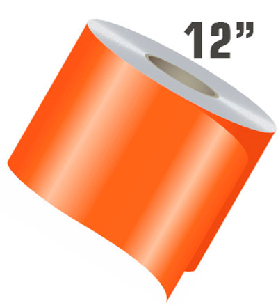 stripeman.com 12 Inch Wide Single Line Single Color Vinyl Stripe Roll