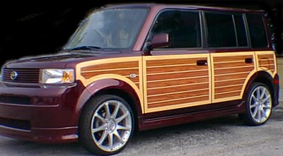 2005-2007 Toyota Scion XB Woody Wood Grain Vinyl Kit