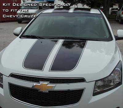 2008-2015 Chevrolet Cruze Cruzin' Rally Racing Stripe Kit